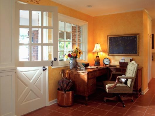 Desk Beside Dutch Door