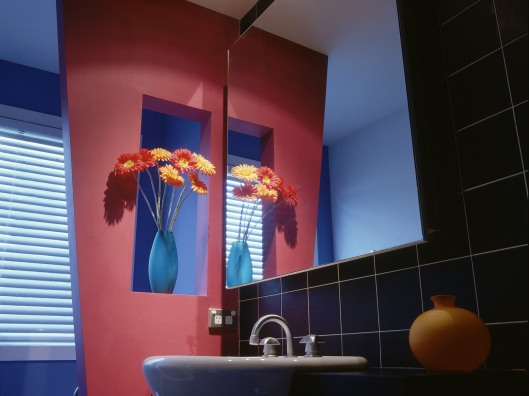 Bathroom Decorated in a Modern Style
