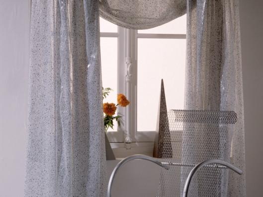 Steel Chair near Window