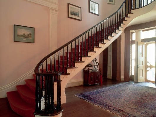 Front Stairway in Madewood Plantation Manor House
