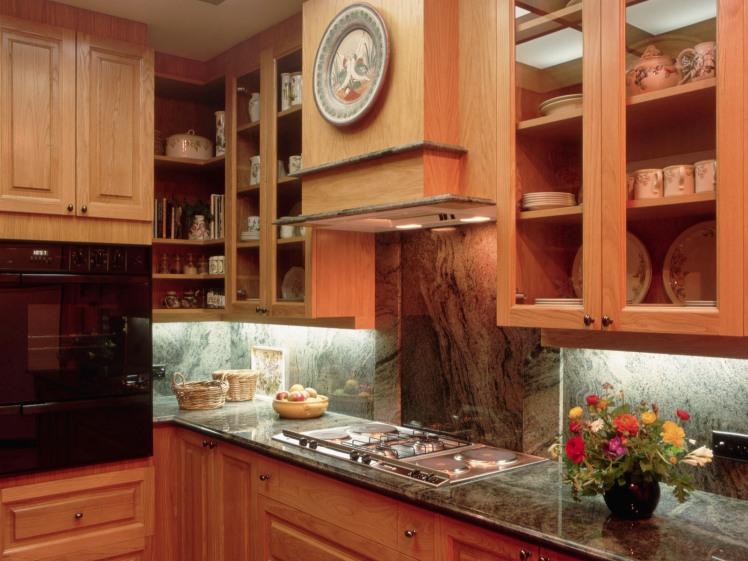 Family Style Wooden Kitchen