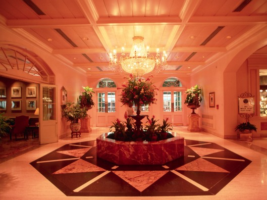 Lobby of the Royal Sonesta Hotel