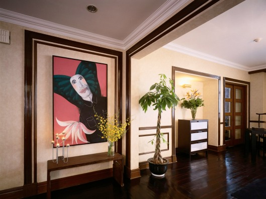 Entrance Hall of Melvyn Chua's Apartment