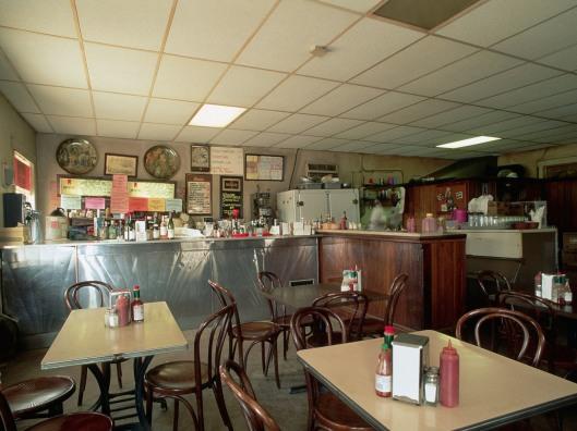 Interior of Uglesich's Restaurant