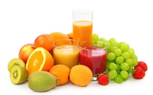 fresh raw vegan juice