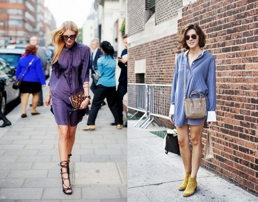 how-to-wear-a-shirtdress-tips-outfits