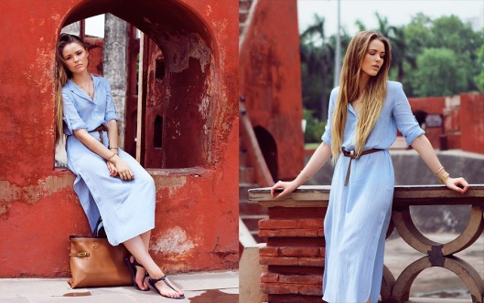 zara-blue-shirt-dress-outfit-style-blogger